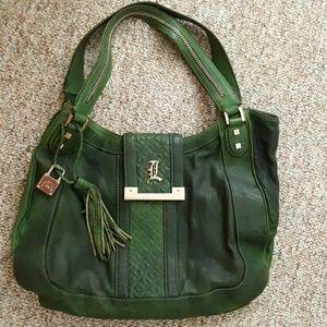 L.A.M.B by Gwen Stefani Green Large purse.😍❣❤